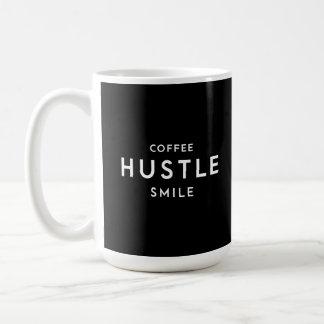 Caneca De Café Coffee Hustle Smile Mug