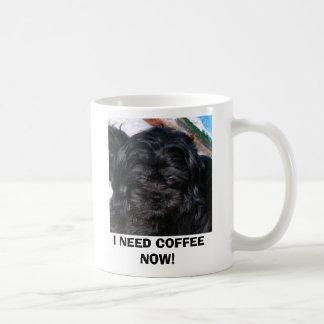 CANECA DE CAFÉ COFFEEHAMISH, EU PRECISO O CAFÉ AGORA!