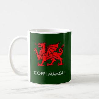 Caneca De Café Coffi Mamgu - café de Nan em Galês sul