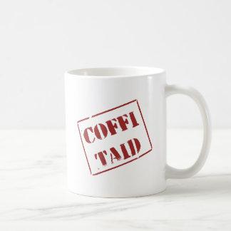 Caneca De Café Coffi Taid (Galês)