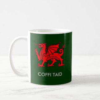 Caneca De Café Coffi Taid - o café do Grandad em Galês