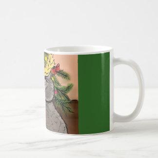 Caneca De Café Coisas brilhantes do amor dos Racoons
