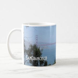 Caneca De Café Coleção de San Francisco - golden gate bridge