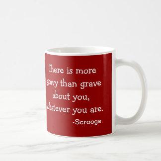 Caneca De Café Coleção de Scrooge do Molho-