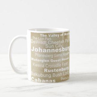 Caneca De Café Coleção do destino: África do Sul