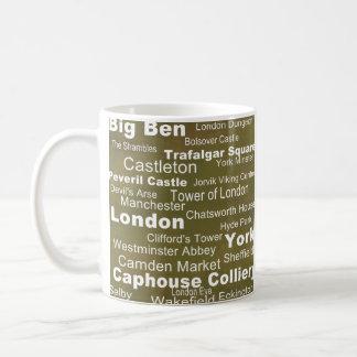 Caneca De Café Coleção do destino: Inglaterra