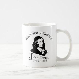 Caneca De Café Coleção reformada John Owen da herança