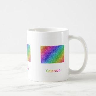Caneca De Café Colorado
