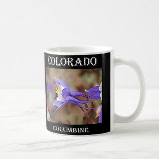 Caneca De Café Colorado aquilégia