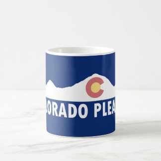 Caneca De Café Colorado por favor