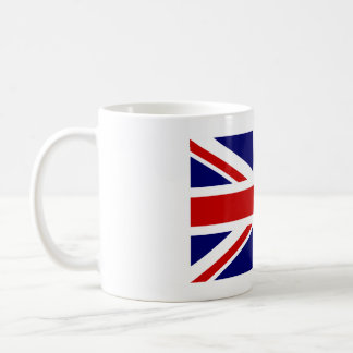 Caneca de café com a bandeira britânica de Union J
