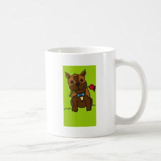 Caneca De Café Com cachorrinho fofo