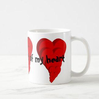 Caneca De Café Com cada batida de meu coração