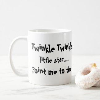 Caneca de café com citações