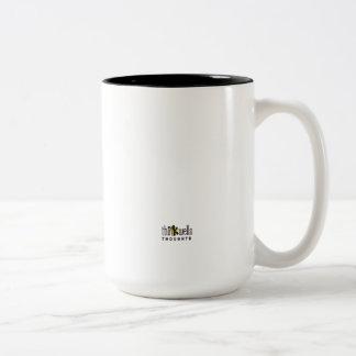Caneca de café com design das ideias por