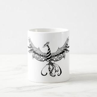 Caneca de café com design de Phoenix