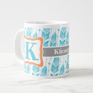 Caneca de café com design do sudoeste da pena
