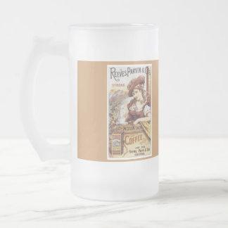 Caneca de café com design do vintage