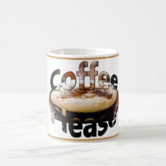 Caneca de café com do café logotipo por favor
