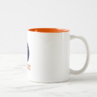 Caneca de café com o logotipo de Copenhaga