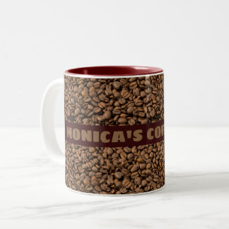 Caneca de café com seu nome nele