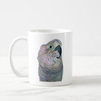 Caneca de café com um cockatoo do bebê