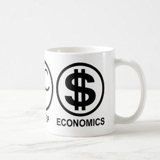 Caneca De Café Coma a economia do sono