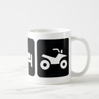 Caneca De Café Coma o sono ATV