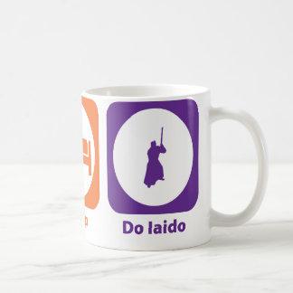 Caneca De Café Coma o sono fazem Iaido