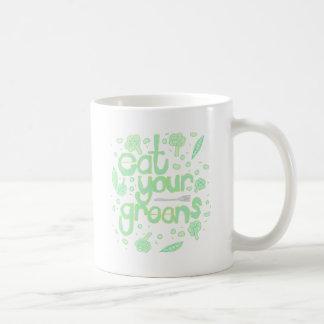 Caneca De Café coma seus verdes