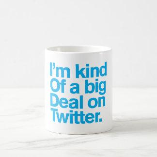 Caneca De Café Comedy™ genérico/grande coisa no Twitter.