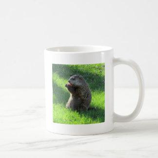 Caneca De Café Comer de Groundhog