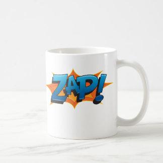 Caneca De Café Cómico Zap!