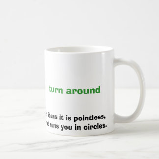 Caneca De Café como a maioria de ideias da gestão é