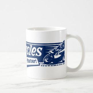 Caneca De Café Como carros, somente mais rapidamente! (azul)