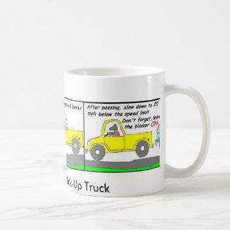 Caneca De Café Como conduzir um caminhão de recolhimento