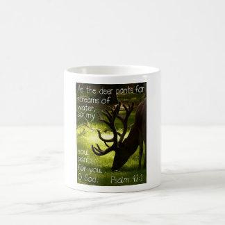 Caneca De Café Como os cervos agridem