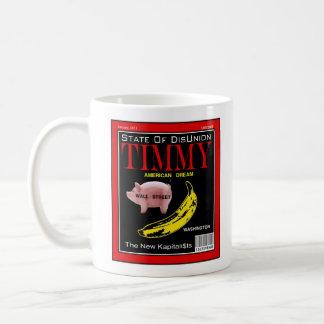 Caneca De Café Compartimento de Timmy - estado de Disunion