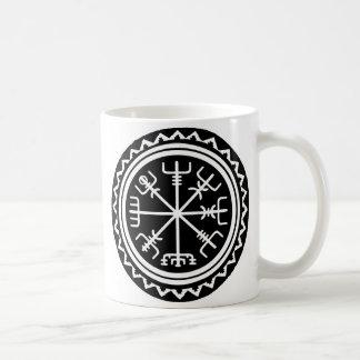 Caneca De Café Compasso de Viking Vegvisir