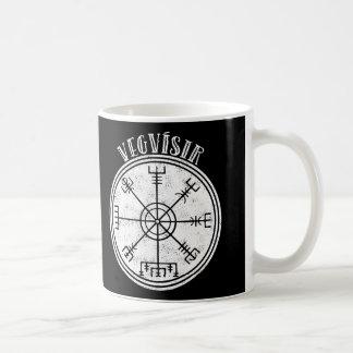 Caneca De Café Compasso do islandês de VEGVISIR