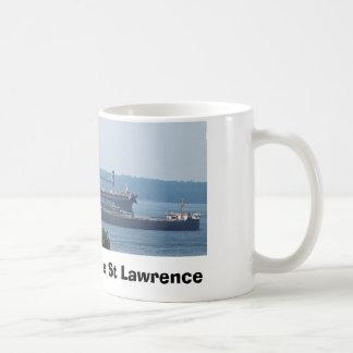 Caneca De Café Competência de barco no St Lawrence