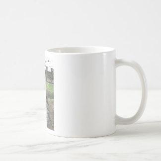 Caneca De Café Competindo sulky usado na competência de chicote