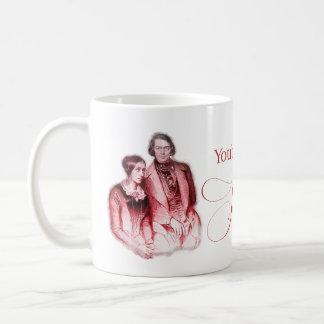 Caneca De Café Compositor clássico Schumann