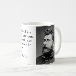 Caneca De Café Compositor de Georges Bizet de Carmen e de