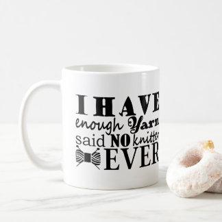 Caneca De Café Confecção de malhas • Não bastante artesanatos