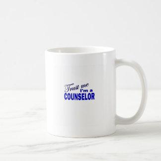 Caneca De Café Confie que eu mim é um conselheiro