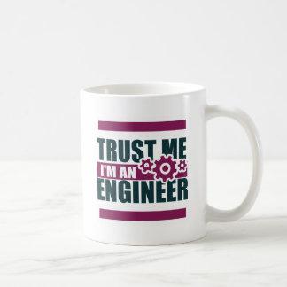 Caneca De Café confie que eu mim é um engenheiro 3
