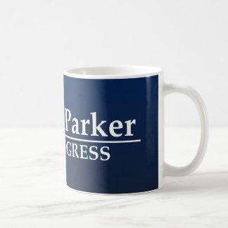 Caneca De Café Congresso de Vernon Parker E.U.