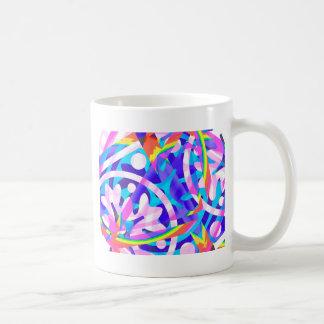 Caneca De Café Conjunto de variação da violeta da cor