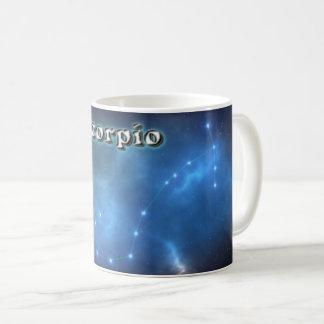 Caneca De Café Constelação da Escorpião